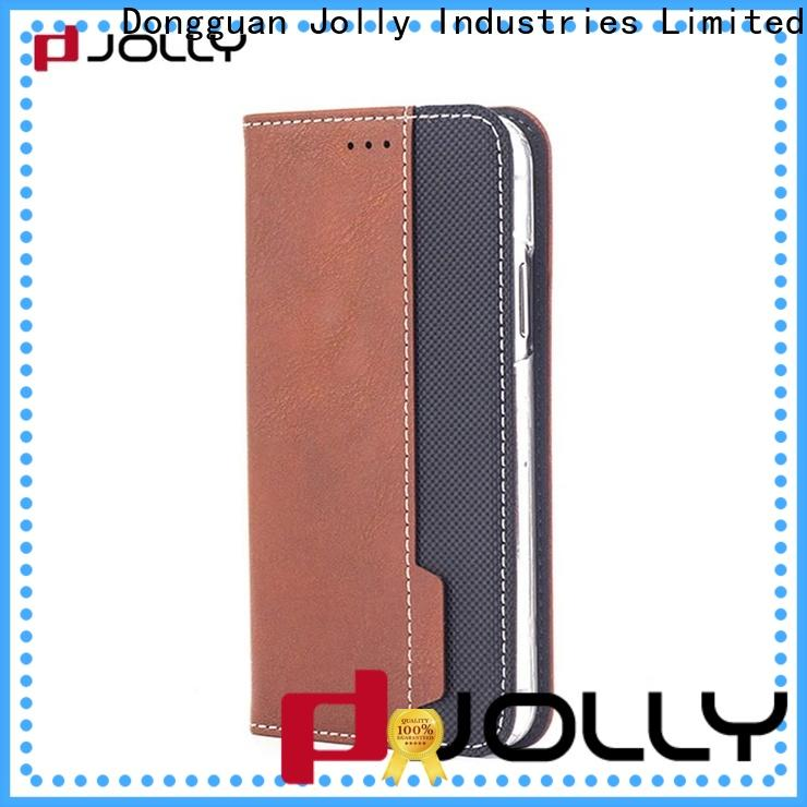 Jolly anti radiation phone case with id and credit pockets for iphone xs