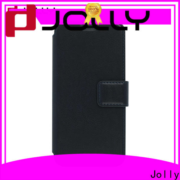 Jolly top cheap cell phone cases with slot kickstand for mobile phone