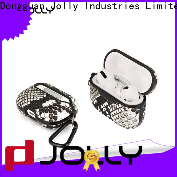 Jolly custom airpods carrying case suppliers for earbuds