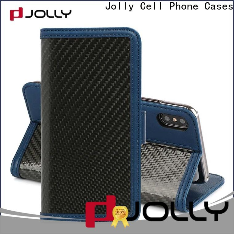 Jolly wholesale phone case and wallet with rfid blocking features for sale