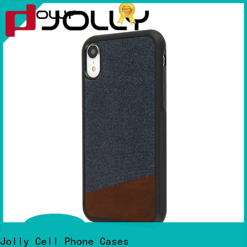 Jolly absorption back cover supplier for iphone xr