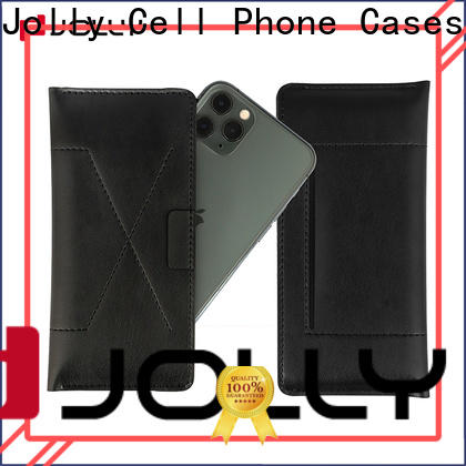 Jolly leather phone case manufacturer for sale