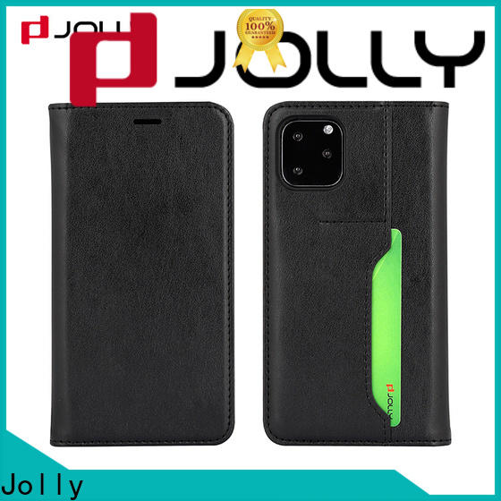 Jolly top phone case maker with id and credit pockets for iphone xs