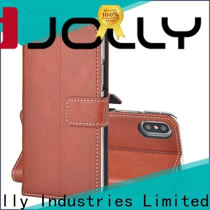 Jolly imitation wallet case company for mobile phone