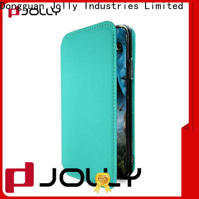 Jolly flip cell phone case for busniess for iphone xs