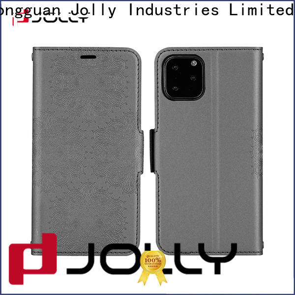 Jolly luxury phone case maker with slot for apple