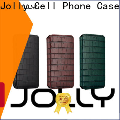 folio magnetic flip phone case supplier for iphone xs