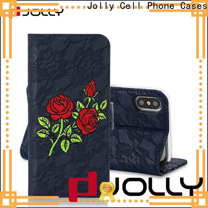 latest cell phone wallet with slot for apple