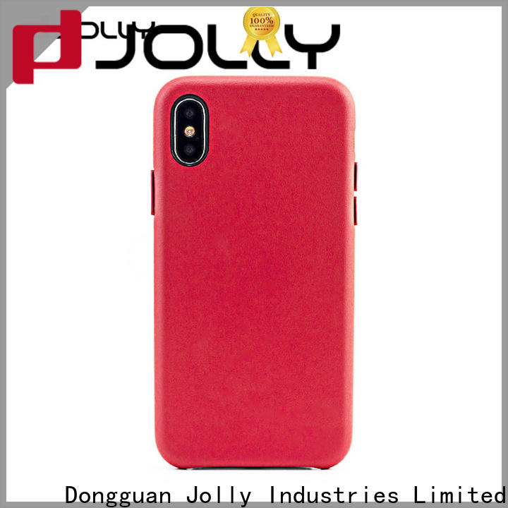 Jolly engraving mobile back cover designs factory for iphone xs