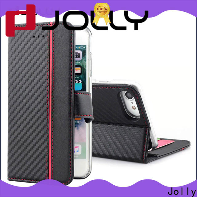 Jolly phone case brands with credit card holder for mobile phone