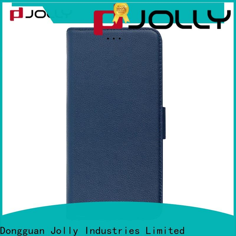 Jolly top android phone cases with slot kickstand for iphone x