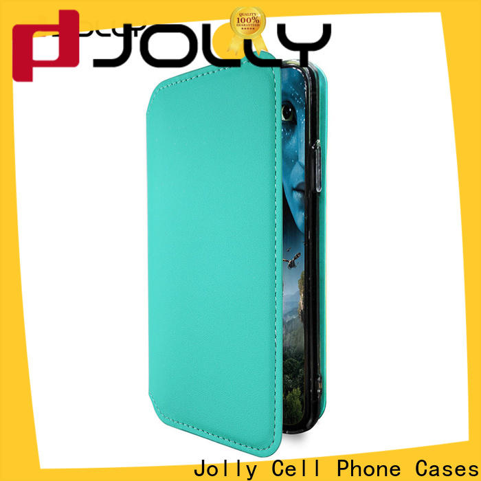 Jolly top anti-radiation case with slot for mobile phone
