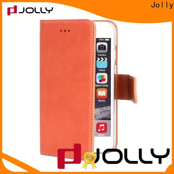 Jolly phone case and wallet supplier for mobile phone