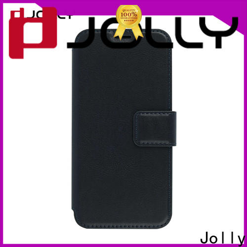 Jolly new initial phone case with slot kickstand for mobile phone
