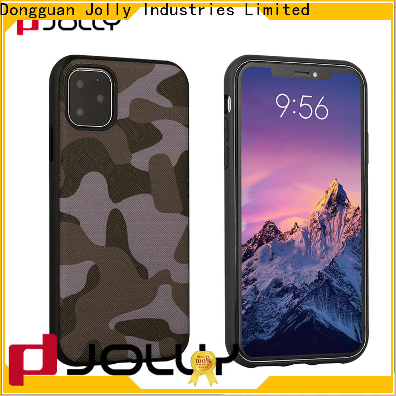 Jolly custom phone back cover supply for iphone xs