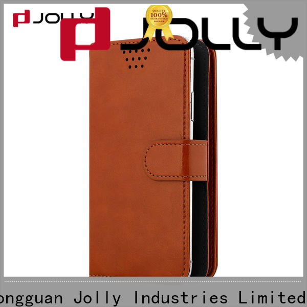 Jolly flip universal smartphone case for busniess for mobile phone