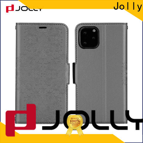 Jolly flip phone covers factory for mobile phone
