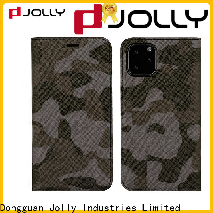 Jolly new magnetic flip phone case for busniess for sale