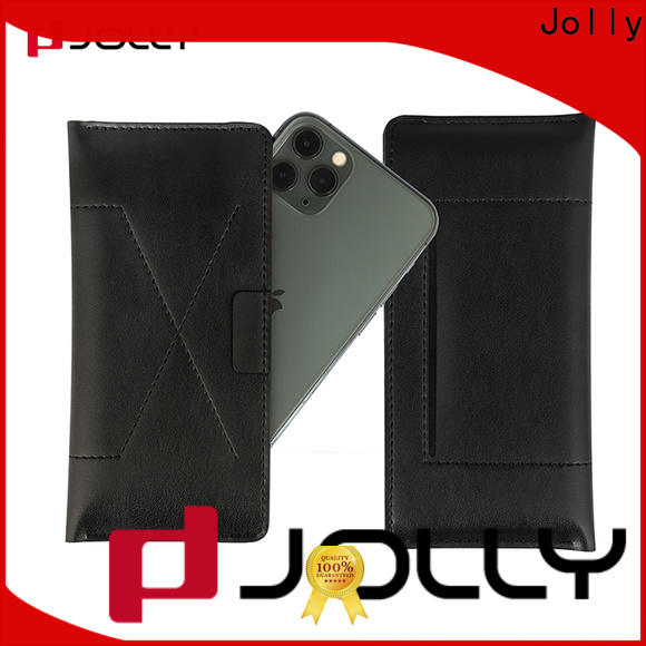 Jolly leather phone case factory for sale