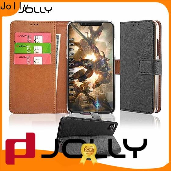 Jolly wallet style phone case supplier for mobile phone