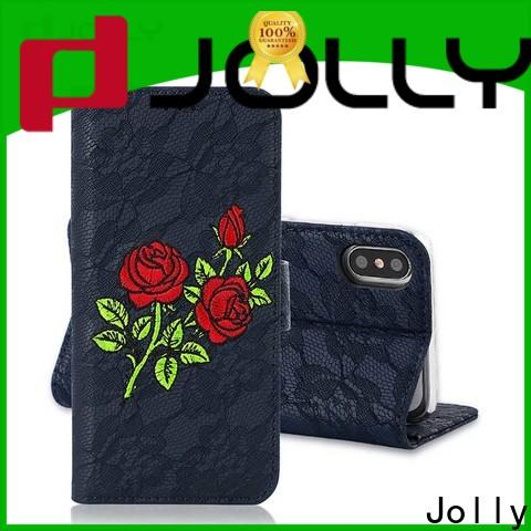 artificial smartphone wallet case with credit card holder for mobile phone