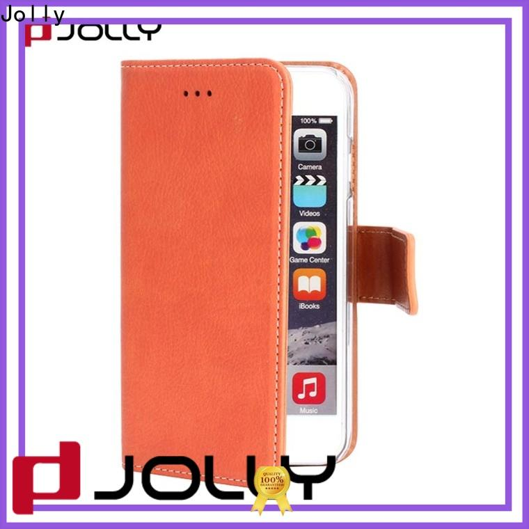 custom mens cell phone wallet with slot for apple