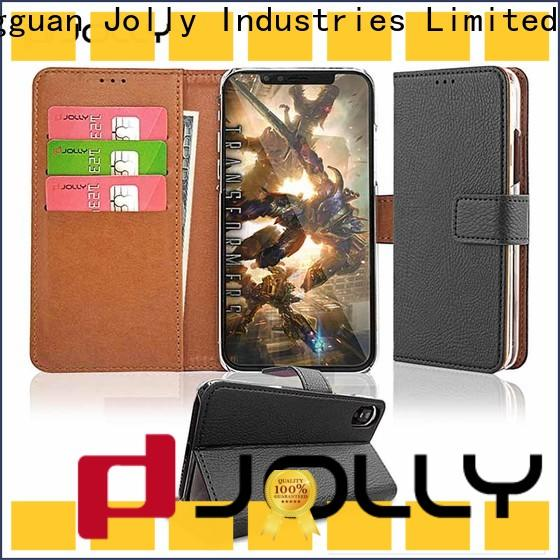 Jolly cell phone wallet case manufacturer for sale