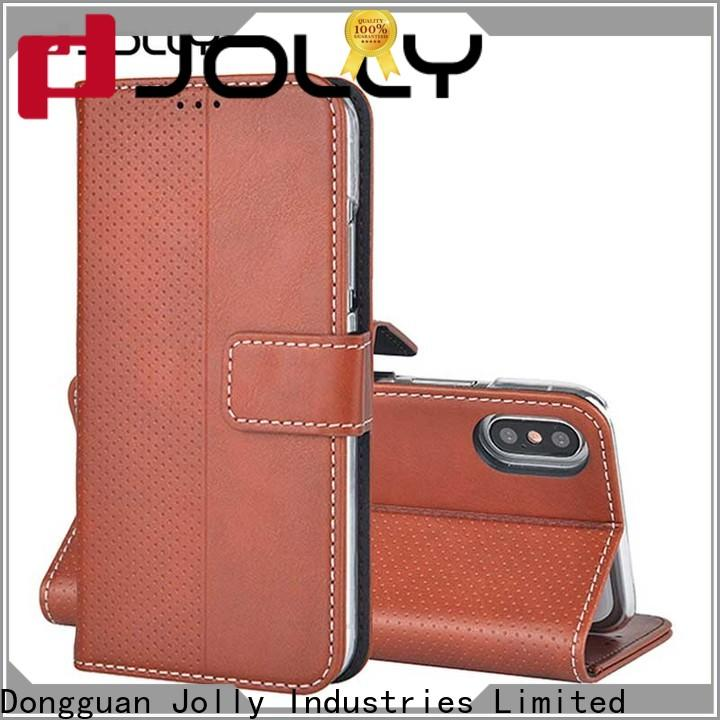 Jolly new cell phone wallet for busniess for mobile phone