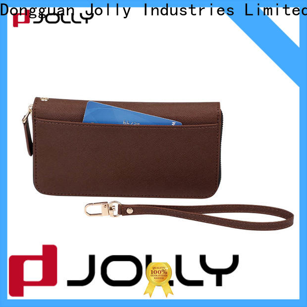 artificial leather cell phone wallet supply for apple