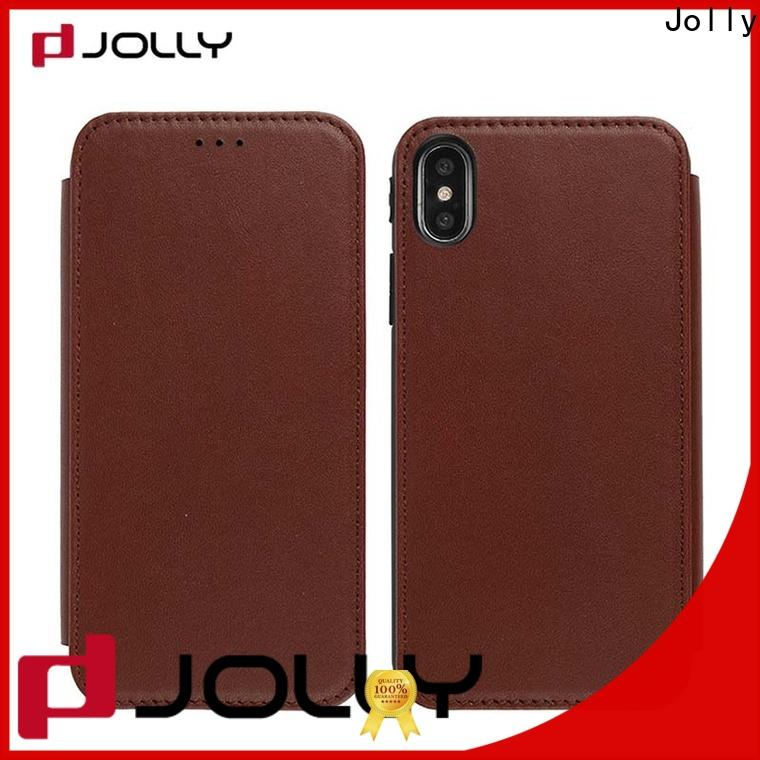 new flip phone covers with id and credit pockets for iphone xs