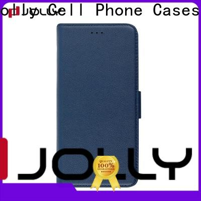 Jolly phone case maker with credit card holder for iphone x