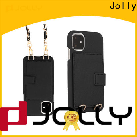 Jolly phone case maker with id and credit pockets for iphone xs