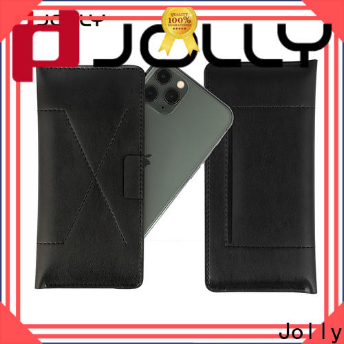 Jolly top universal waterproof case with credit card slot for mobile phone