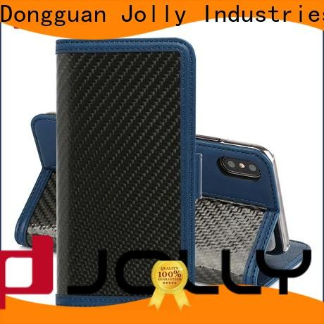 Jolly wallet case factory for mobile phone