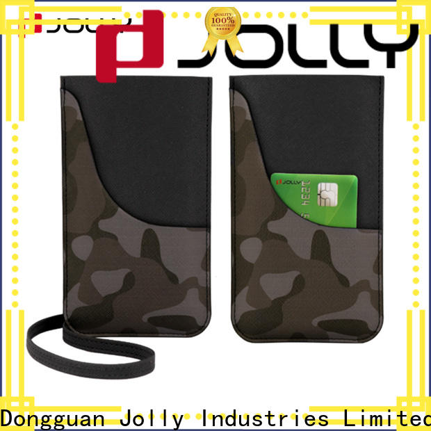 Jolly colored mobile phone bags pouches factory for cell phone
