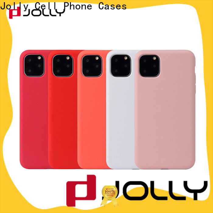 Jolly custom phone back cover factory for sale