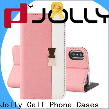 Jolly new cheap cell phone cases with strong magnetic closure for iphone xs