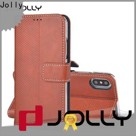 Jolly latest mens cell phone wallet manufacturer for iphone xs