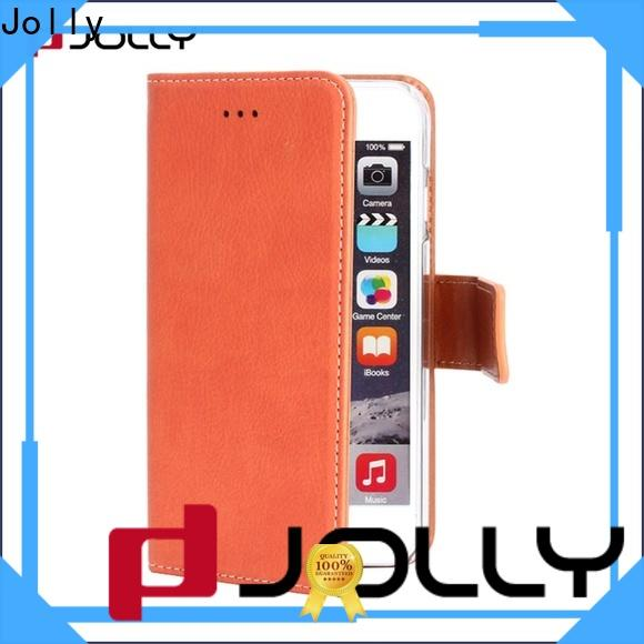 Jolly mens cell phone wallet factory for apple