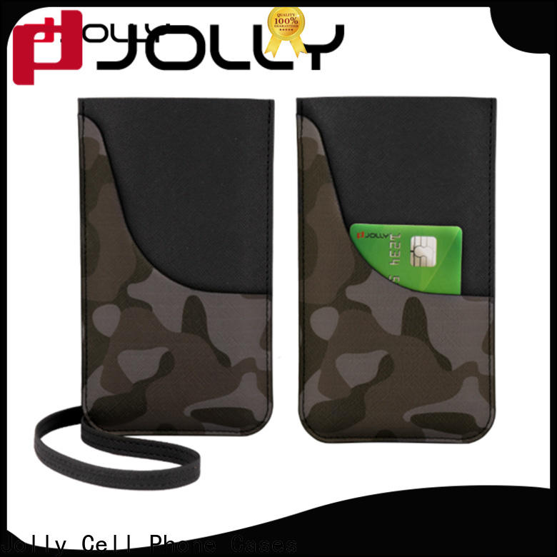 Jolly phone pouch company for phone