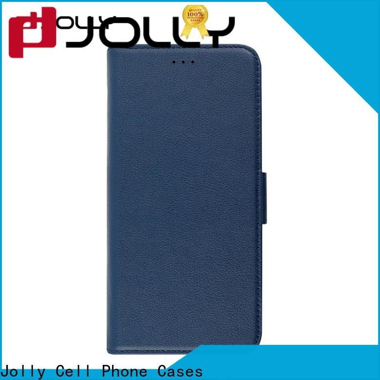 Jolly pu leather protection case company for iphone xr