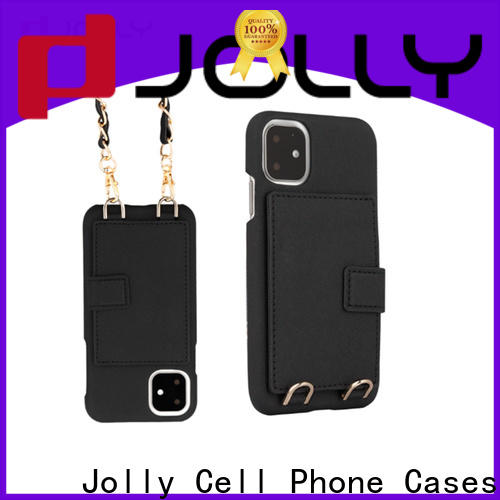 Jolly custom phone case maker with id and credit pockets for iphone xs