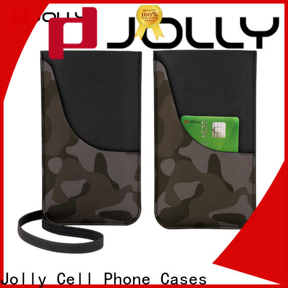 Jolly mobile phone bags pouches manufacturers for cell phone