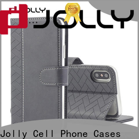 luxury cell phone wallet combination with rfid blocking features for apple