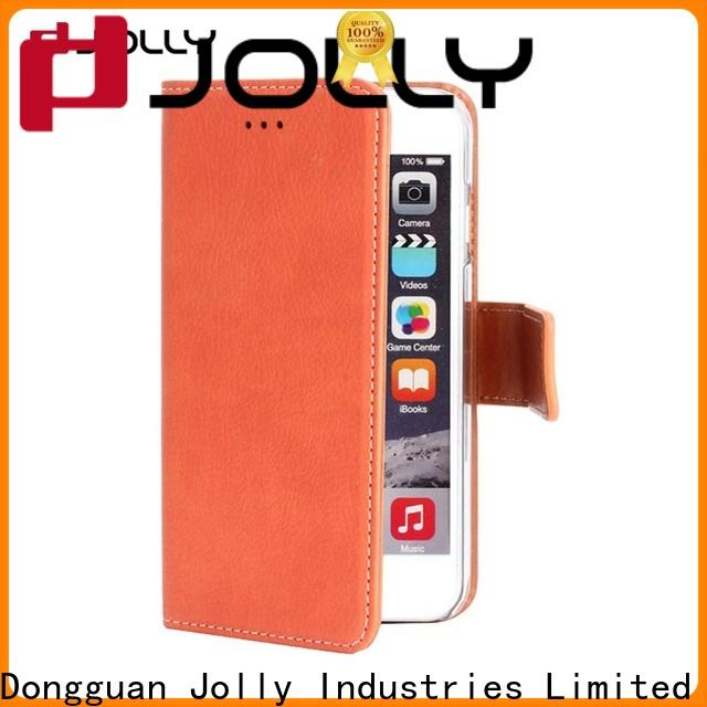 Jolly zip around cell phone wallet purse with id and credit pockets for apple