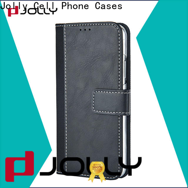 Jolly cell phone wallet combination supply for apple