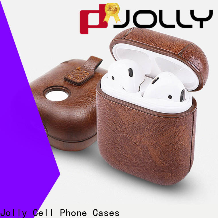 Jolly custom airpods case charging manufacturers for earpods