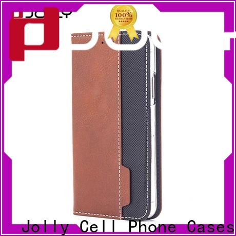 folio flip phone covers with id and credit pockets for mobile phone