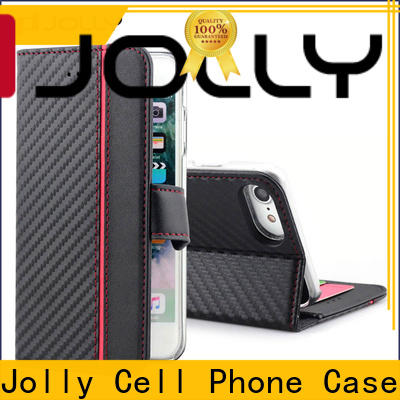 Jolly first layer unique phone cases with credit card holder for iphone xr
