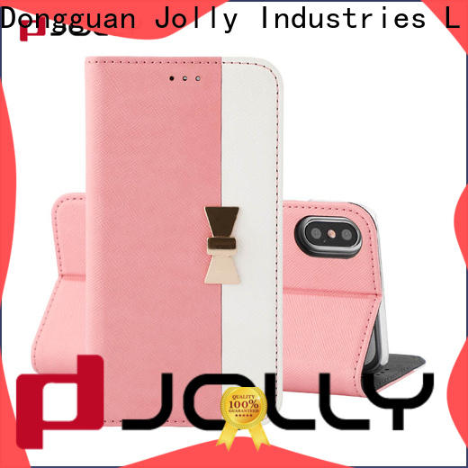 Jolly latest wholesale phone cases with slot for iphone xs